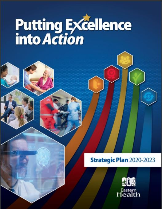 Eastern Health's Strategic Plan 2021-2023: Putting Excellence into Action