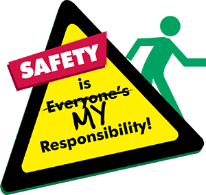 Safety is my responsibility graphic