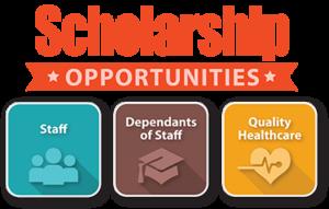 Scholarship opportunities graphic
