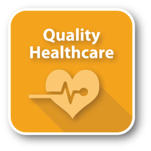 Quality Healthcare graphic